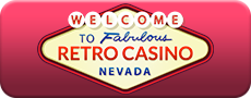 retro casino logo