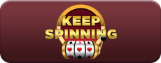 keep spinning casino logo